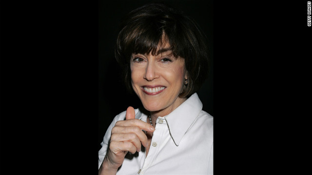 Ephron attends the 101 Greatest Screenplays gala reception at the Writers Guild Theater on April 6, 2006, in Beverly Hills, California.