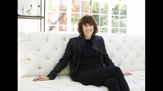 Nora Ephron poses for a portrait in her home in New York on November 3, 2010.