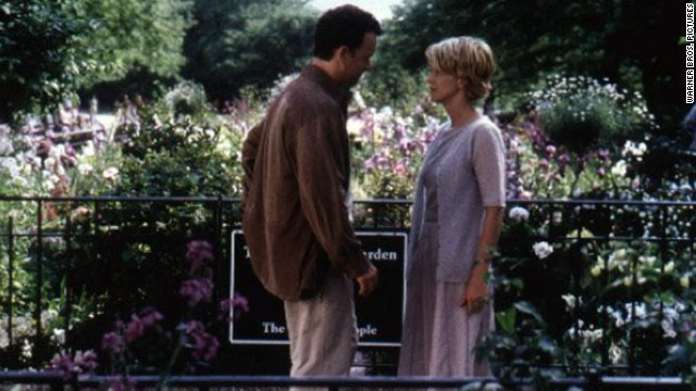 Kathleen Kelly (Meg Ryan) and Joe Fox (Tom Hanks) are competing bookstore owners who unknowingly engage in a virtual relationship as &quot;Shopgirl&quot; and &quot;NY152,&quot; respectively.