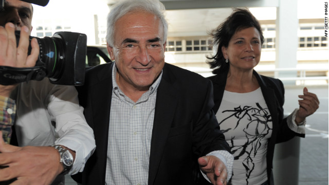 Former International Monetary Fund leader Dominique Strauss-Kahn no longer enjoys the level of privacy that he used to. 