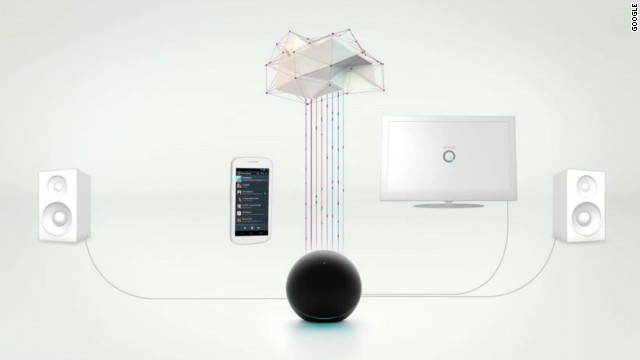 Google bills the globe-like Nexus Q device as 