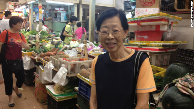 Wong Miu Ping is in her 70s and says Hong Kong needs to spend more money on medical care. She's retired and is living off her savings.