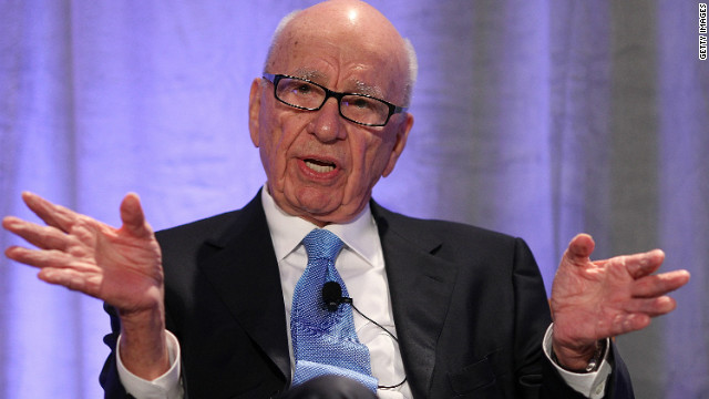 Rupert Murdoch says he has faced a backlash after calling Scientology a 