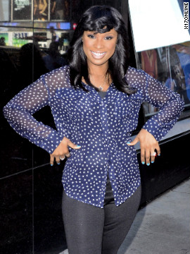 "Jennifer Hudson visits ""Good Morning America"" in New York City."