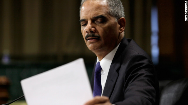 Oversight committee to file contempt case against Holder