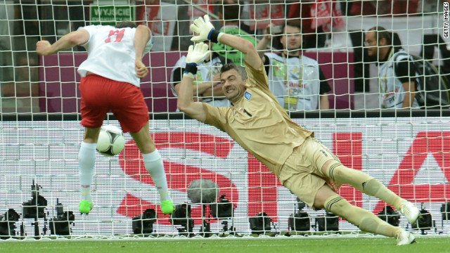 Unforgettable moments of Euro 2012