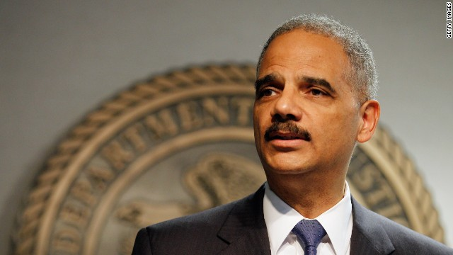 Attorney General Eric Holder made a statement Thursday after the House cited him for contempt of Congress.