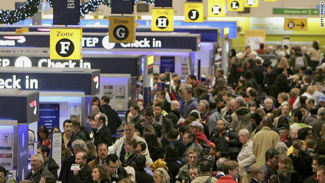 London's Heathrow has more international passengers than any other airport, according to Guinness World Records, with 64.7 million in 2011.
