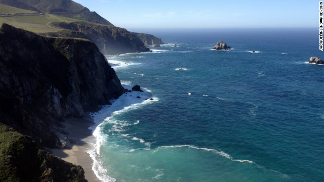 Who needs gadgets with Big Sur scenery?