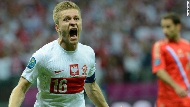 Tensions were high ahead of Poland's clash with Russia. The hosts fell behind when Alan Dzagoev headed in his third goal of the tournament, but Poland's captain Jakub Blaszczykowski fired in a stunning second-half equalizer to level the match. Despite the draw, Poland failed to make it out of the group stages.