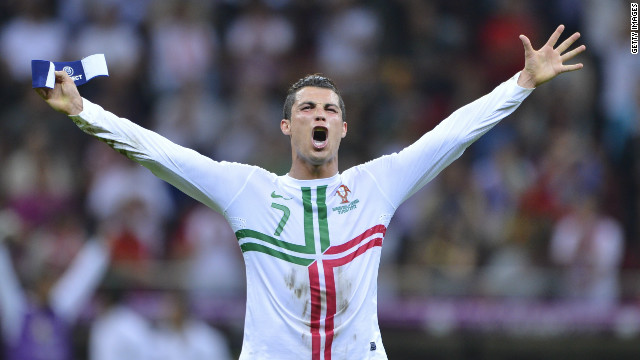 Cristiano Ronaldo's personal mission to beat the Czech Republic succeeded in the closing stages as he superbly headed Portugal into the semifinals of Euro 2012.<br/><br/>