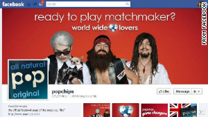 Popchips\' Facebook page had featured the video campaign with Ashton Kutcher but not \