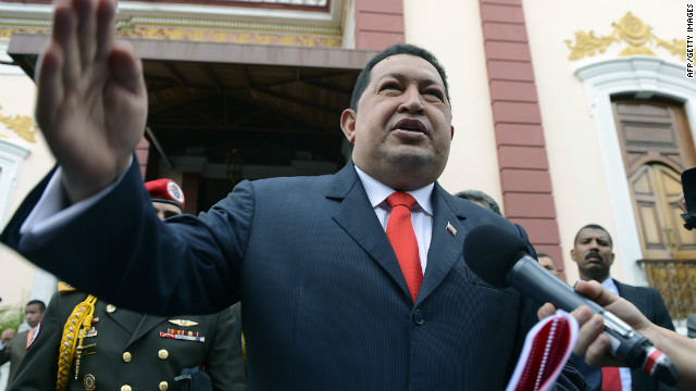 Venezuelan President Hugo Chavez said the man was detained while trying to cross the border from Colombia into Venezuela.