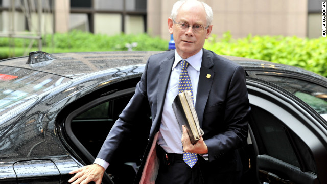 EU President Herman Van Rompuy delayed presenting a compromise until the early hours of Friday morning.