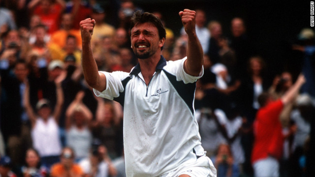 Goran Ivanisevic had been a professional tennis player for 13 years, but, ahead of Wimbledon 2001, he had yet to win a grand slam title. He had slipped to 125 in the world rankings, but was handed a wildcard place for the grass-court grand slam. Ivanisevic played like a man possessed at the All England Club, defeating home favorite Tim Henman in the semis before beating Pat Rafter in an emotional final with his fourth match point.