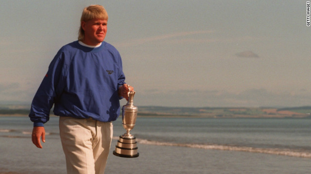 Daly won his second major championship four years later at the British Open.