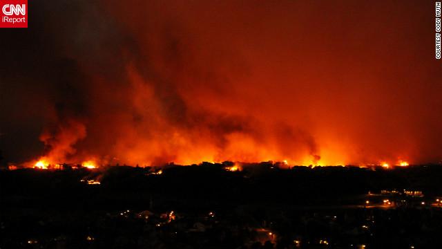 Obama visita Colorado para evaluar los daños de los incendios forestales