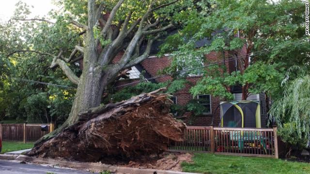 Millones sin energía en EE.UU. tras el azote de tormentas eléctricas y vendavales