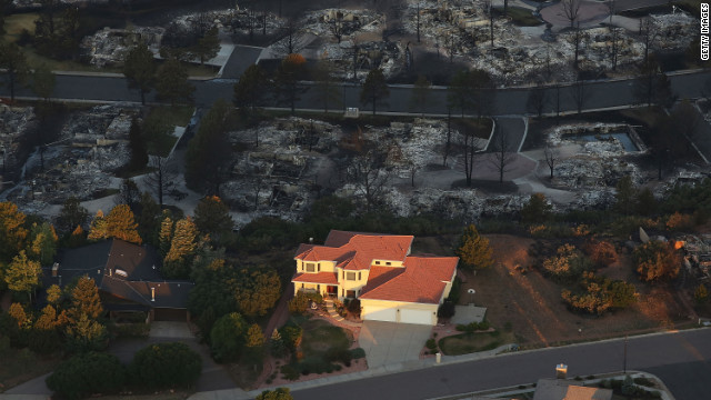 COLORADO FIRE VICTIM FILMS HER OWN EVACUATION - CNN.
