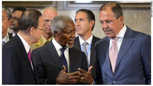 Líderes mundiales logran un acuerdo para poner fin a la crisis en Siria