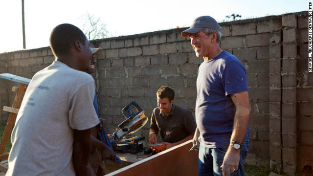 Bush travels to Zambia, Botswana to raise cancer awareness