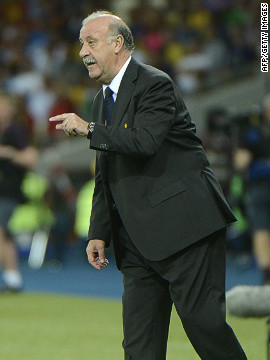 Coach Vicente Del Bosque has overseen Spain's last two wins in major competitions, carrying on the winning habit instilled at Euro 2008 by his predecessor, Luis Aragones.