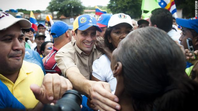 Henrique Capriles se acerca al pueblo venezolano para vencer a Chávez
