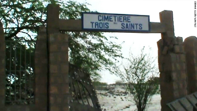 The entrance of the &quot;Cemetry of three Saints&quot; was also attacked by Islamist militants in Timbuktu.