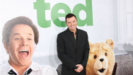 "A company that says it produced videos about a cursing teddy bear fond of prostitutes is suing Seth MacFarlane over his ""Ted"" movie."
