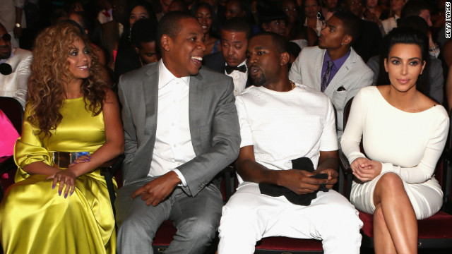 BET Awards 2012: Kimye dons white, Whitney Houston remembered