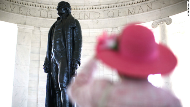 In his blog, Jefferson lays out his visionary thoughts on education