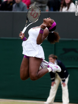 Serena Williams is also through to the last eight as she seeks her first grand slam title since winning Wimbledon for the fourth time in 2010.