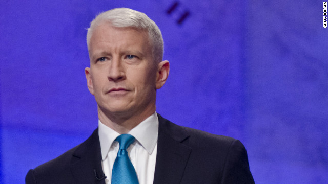 Anderson Cooper says he's gay, happy and proud