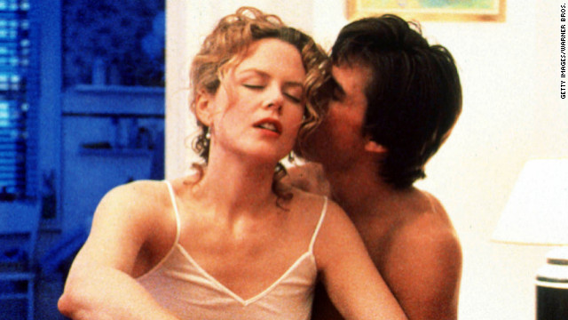 "Cruise and Kidman's characters got hot and steamy in 1999's ""Eyes Wide Shut."""