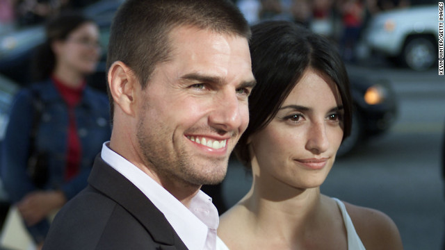 Cruise dated his &quot;Vanilla Sky&quot; co-star, Penlope Cruz, until 2004.