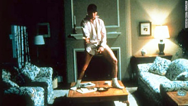 This scene from 1983's &quot;Risky Business,&quot; which features Cruise's Joel Goodson dancing around sans his pants, has been immortalized in Guitar Hero commercials and 1999's &quot;Never Been Kissed.&quot;