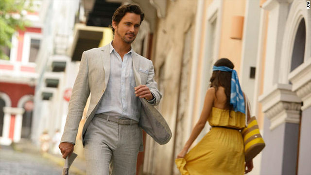'White Collar' creator: Matt Bomer's a magnet for viewers
