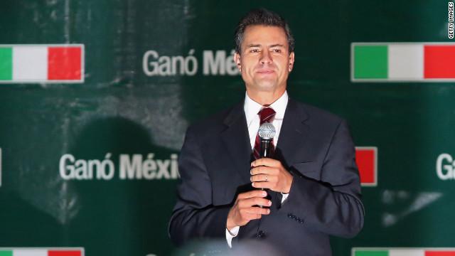 Obama llama a Peña Nieto y lo felicita por su victoria en las elecciones de México