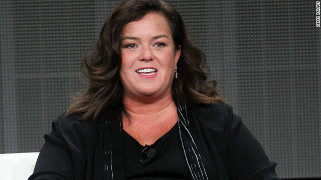 After years as a stand-up comedian and actress, Rosie O'Donnell came out two months before her talk show went off-air in 2002. The announcement came during a comedy routine at the Ovarian Cancer Research benefit at Carolines Comedy Club in New York. &quot;I don't know why people make such a big deal about the gay thing,&quot; she said during her act. &quot;People are confused, they're shocked, like this is a big revelation to somebody.&quot; She became engaged to partner Michelle Rounds in 2011.
