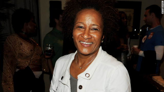 Stand-up comedian and actress Wanda Sykes announced her sexual orientation -- and her marriage -- in 2008 at a rally for gay marriage. &quot;You know, I don't really talk about my sexual orientation,&quot; Sykes said. &quot;I didn't feel like I had to. I was just living my life, not necessarily in the closet, but I was living my life. ... But I got pissed off. They pissed me off. I said, 'You know what? Now I gotta get in your face.' &quot; Sykes was referring to the passage of Proposition 8, banning gay marriage, in California days after her wedding.