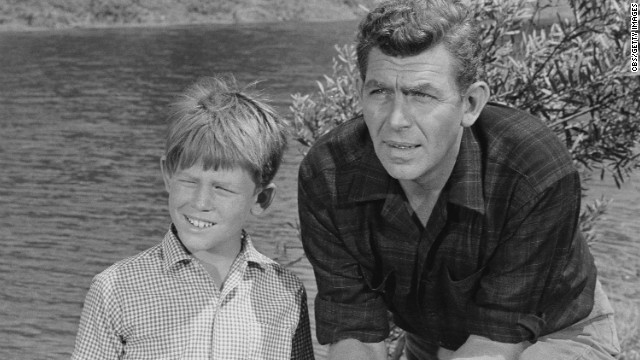 Future director Ron Howard played son Opie to Griffith's Andy Taylor on the TV show.<br/><br/>
