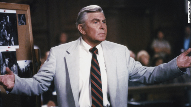 Griffith also starred in the television legal drama &quot;Matlock&quot; from 1986 through 1992 on NBC and from 1992 until 1995 on ABC.