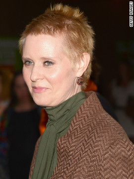 Reports of &quot;Sex and the City&quot; star Cynthia Nixon's relationship with Christine Marinoni surfaced in 2004, six years after the television show's premiere. Nixon discussed her relationship with New York Magazine in 2006, saying, &quot;I never felt like there was an unconscious part of me around that woke up or that came out of the closet; there wasn't a struggle; there wasn't an attempt to suppress. I met this woman, I fell in love with her, and I'm a public figure.&quot;