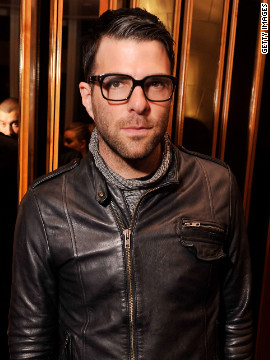 Actor Zachary Quinto said he was inspired to &lt;a href='http://www.cnn.com/2011/10/16/showbiz/zachary-quinto-gay/index.html?iref=allsearch'&gt;acknowledge his homosexuality&lt;/a&gt; in October 2011 after a 14-year-old, who was apparently being harassed over his sexuality, killed himself. &quot;In light of Jamey's death, it became clear to me in an instant that living a gay life without publicly acknowledging it is simply not enough to make any significant contribution to the immense work that lies ahead on the road to complete equality.&quot;