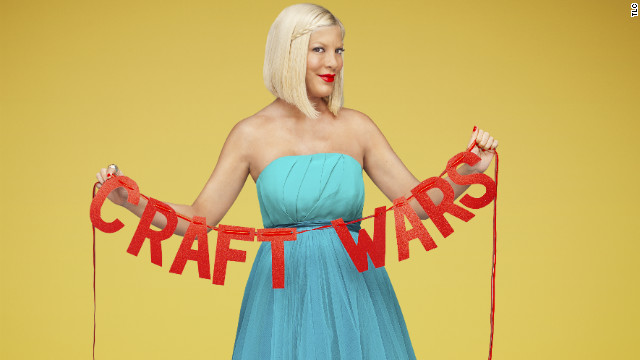 Tori Spelling and 'Craft Wars': A reality contest, but with more glitter
