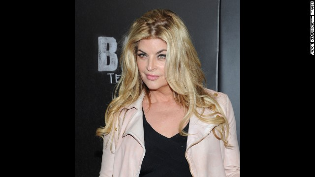 Kirstie Alley loved Patrick Swayze, but didn't sleep with him
