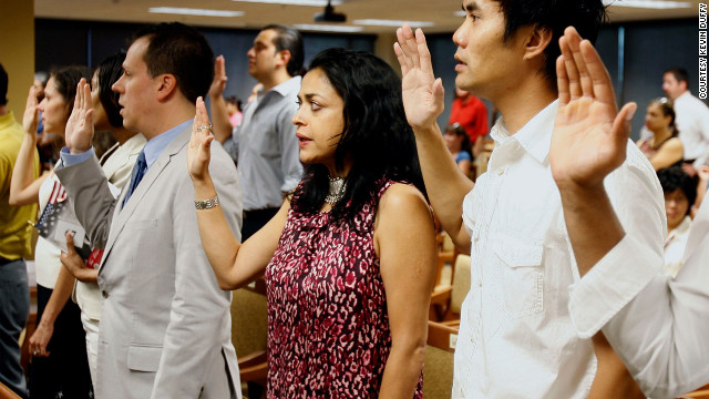 Nationality, identity and the pledge of allegiance