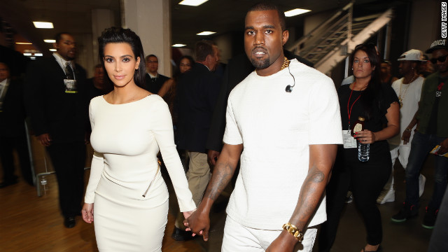 Kimye hits Paris Fashion Week