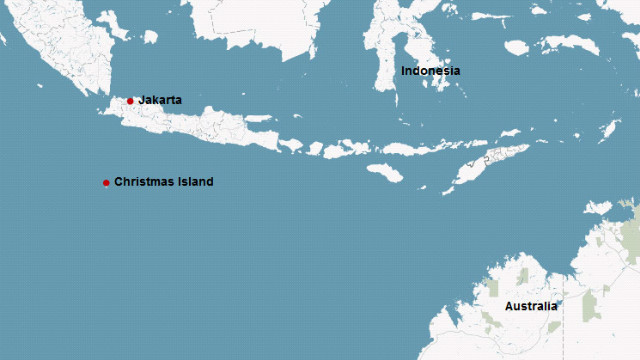 On Wednesday July 4, Australian authorities said they located a boat carrying between 130 and 180 people northwest of Christmas Island and south of the Indonesian island of Java.