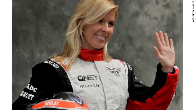 La piloto de F1 María de Villota pierde el ojo derecho tras un accidente